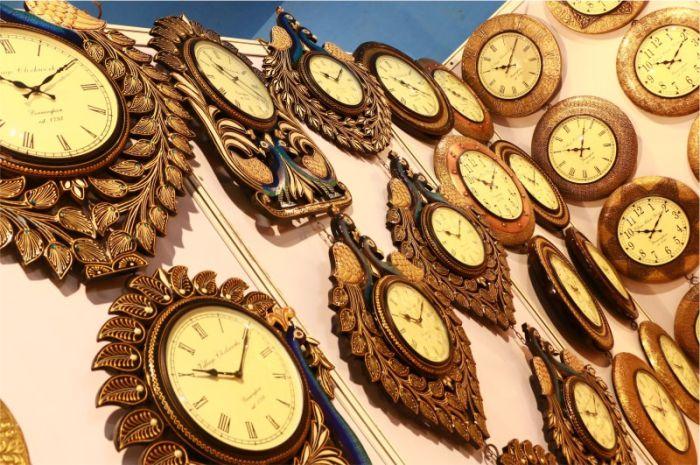 IIMTF Wooden wall clock