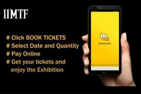 IIMTF book my fair app. Leading B2C exhibition in India