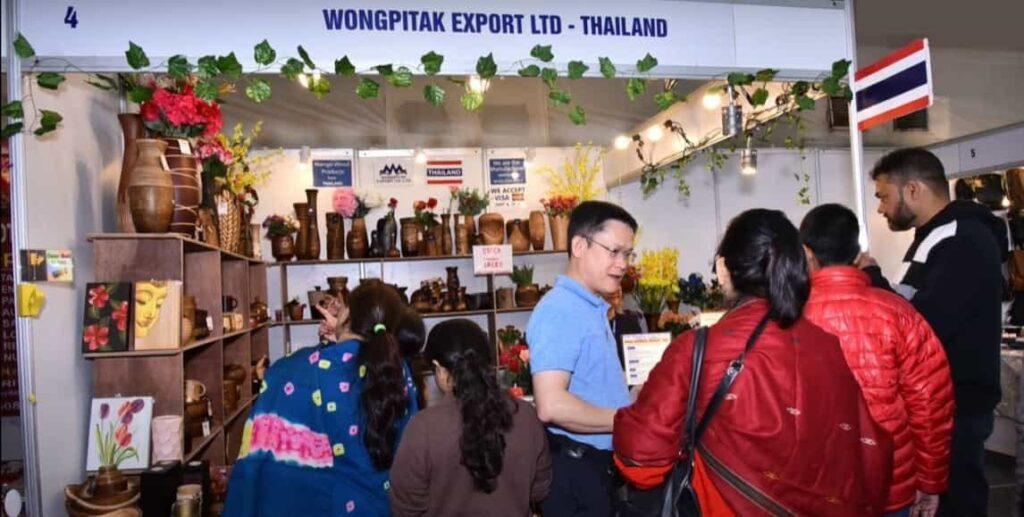 IIMTF Thailand Exhibitor. Leading B2C exhibition in India