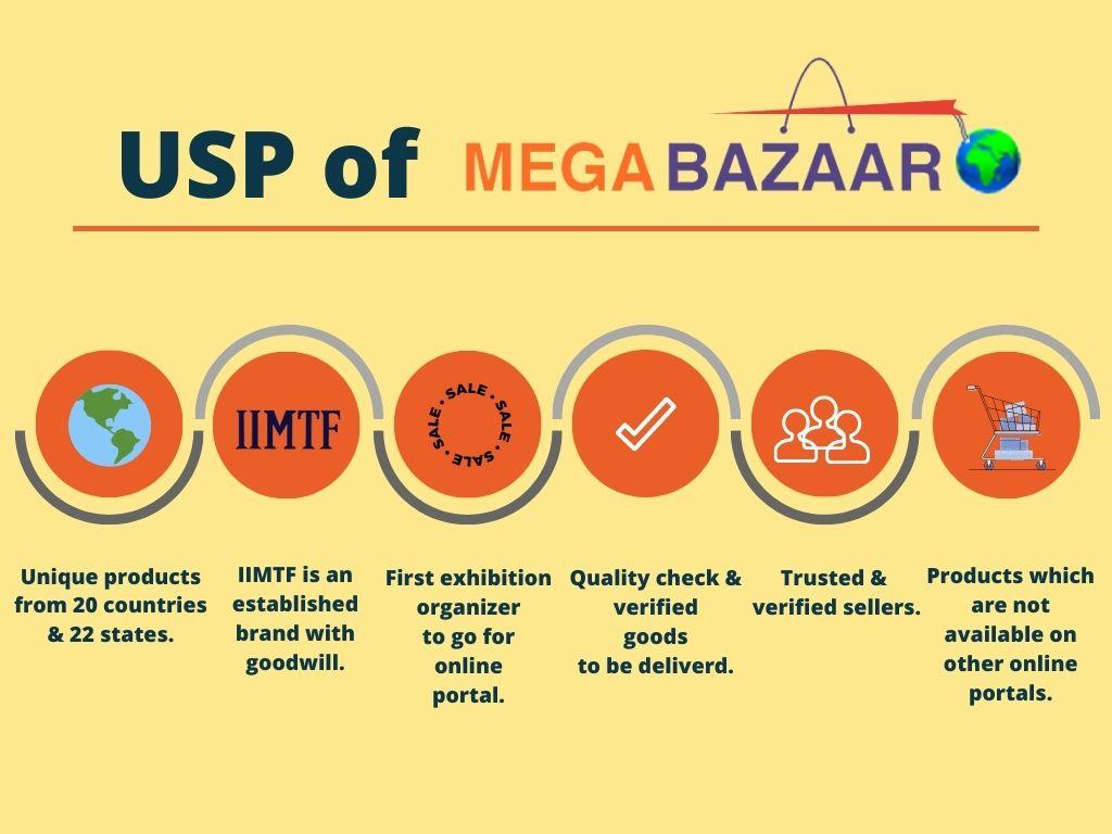 USP of Mega Bazaar