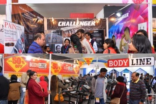 Two exhibitors from the same industry