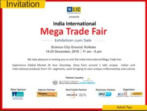 Kolkata invitation