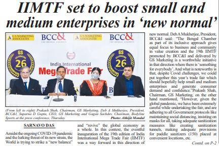 Kolkata press release