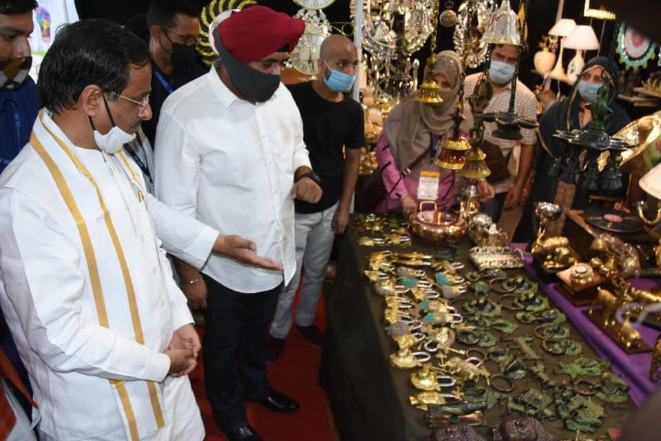 India International Mega Trade Fair Lucknow Indira Gandhi Pratishthan deputy Chief minister Uttar pradesh Dinesh Sharma