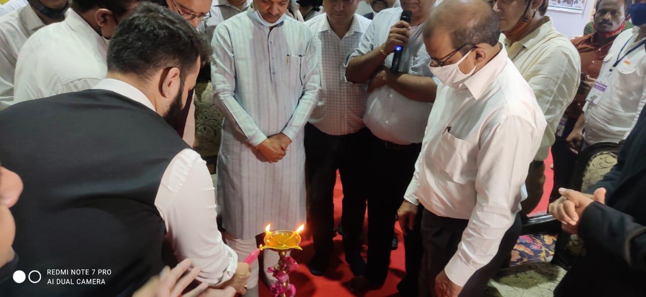 India International Mega Trade Fair Indore Inauguration by Om Prakash Sakhlecha