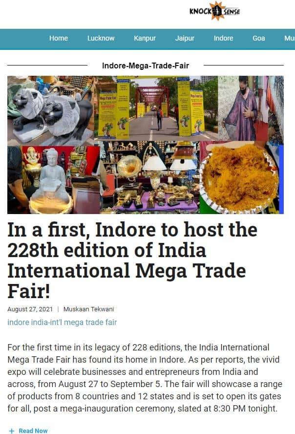 IIMTF Indore KnockSense