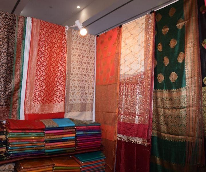 India International Mega Trade Fair Bangladesh Jamdani Saree