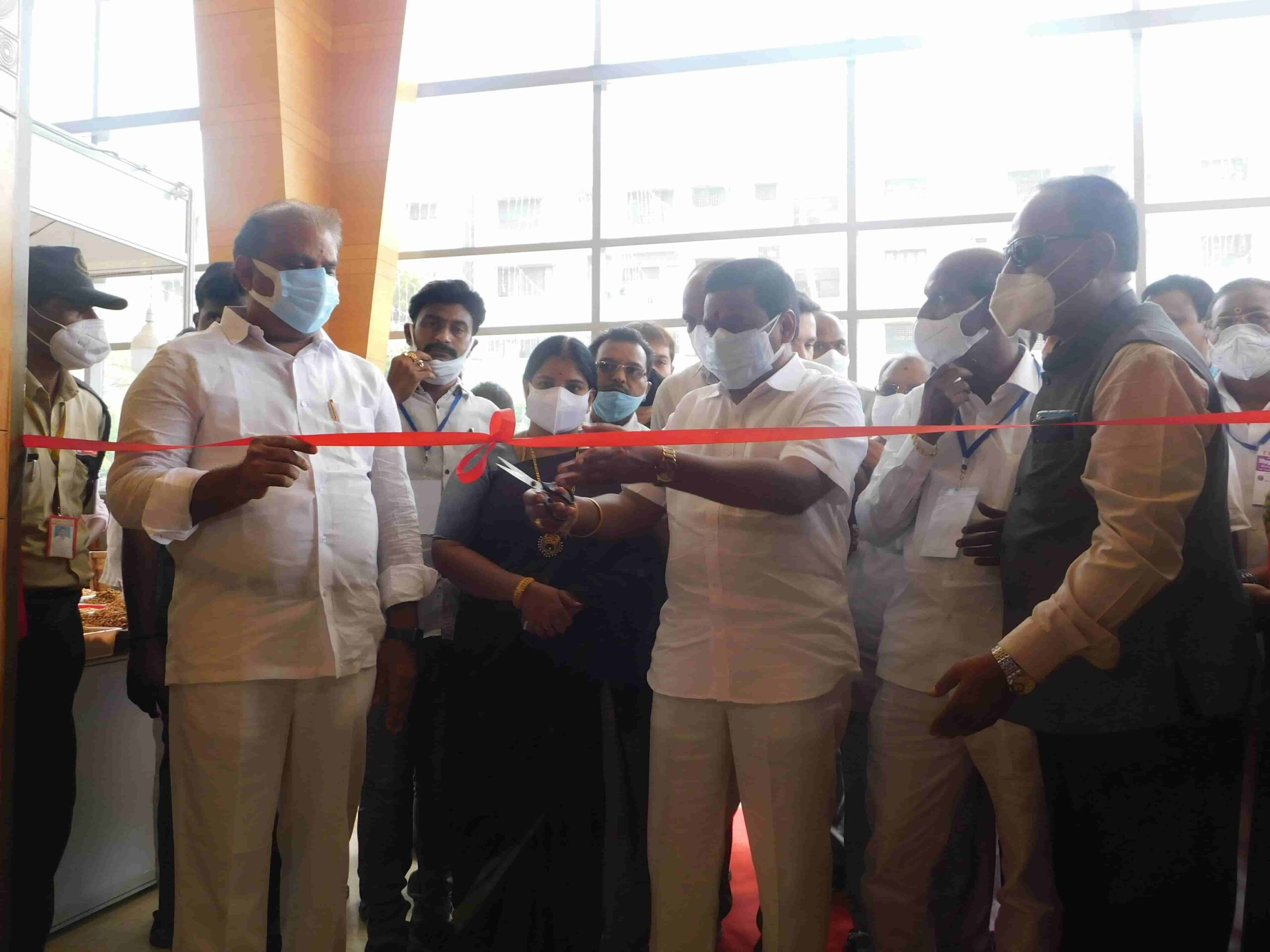 India International Mega Trade Fair Vijayawada Velam Palli Srinivasa Rao 2021 Mega Trade Fair