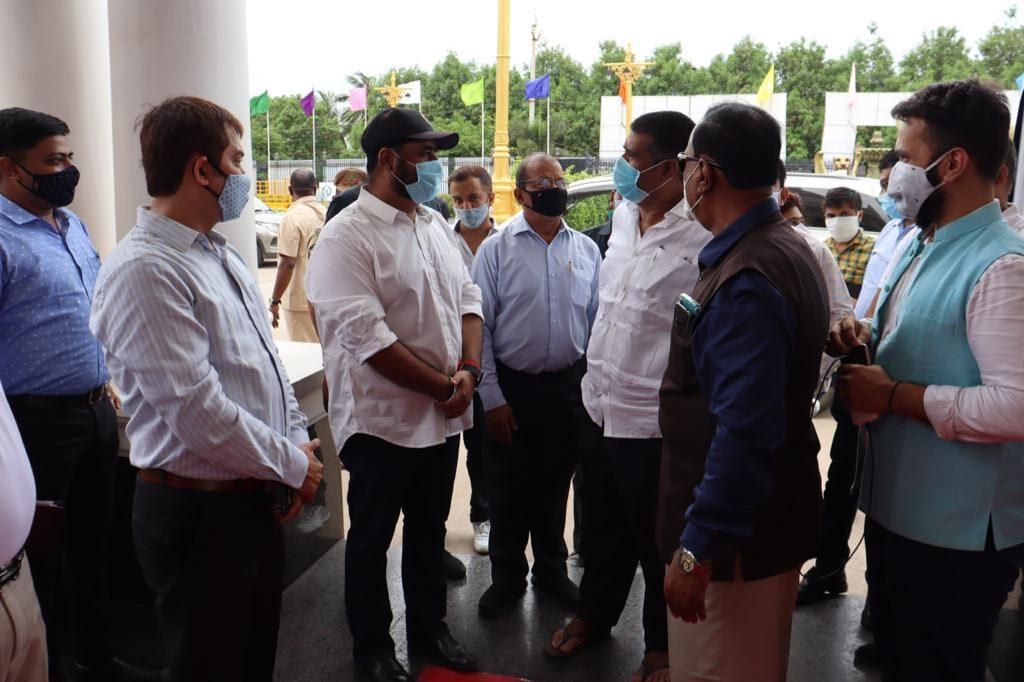 India International Mega Trade Fair Vizag 2021 Gadiraju Palace by Avanthi Srinivasa Rao
